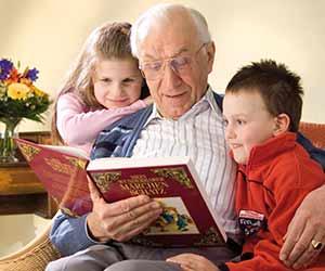 Herr Quitsch liest Märchen (Pflegebereich EG) @ Pflegebereich EG, ParkWohnStift